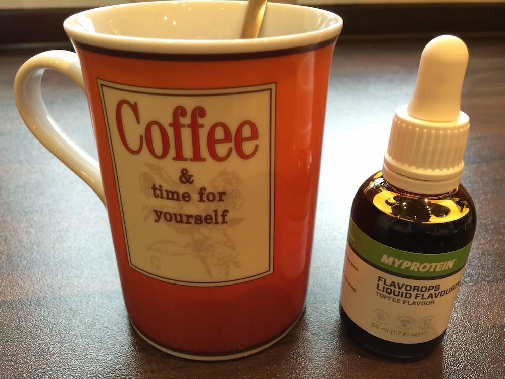 MyProtein Flavdrops Toffee