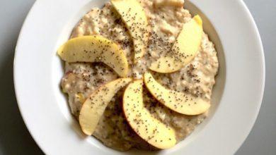 Peanut Porridge mit Apfel Kopie1 390x220 - Peanut-Porridge mit Apfel