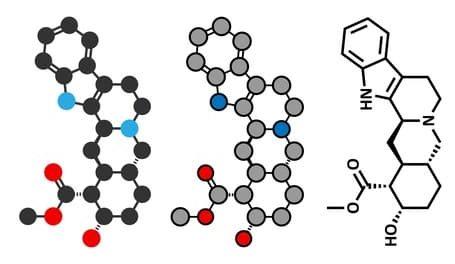 Yohimbin alkaloid molekühl e1511270377973 - Yohimbin - Yohimbin HCL - Yohimbe - alle Fakten zum Fatburner