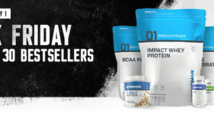 Black Friday bei Myprotein