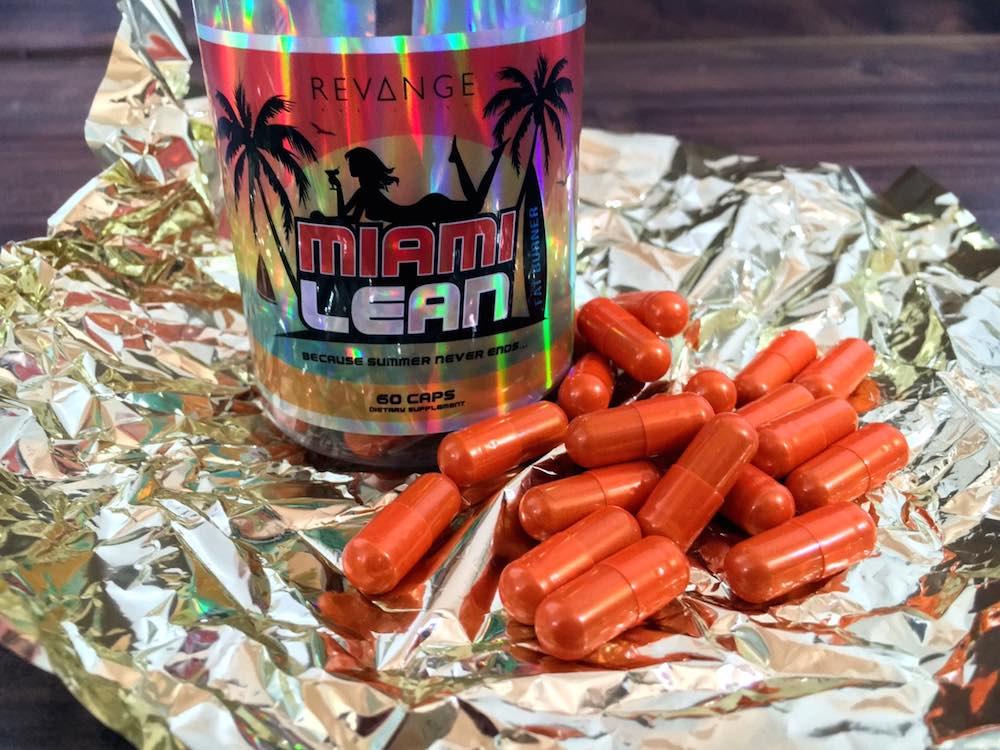 Miami Lean - Miami Lean Fatburner - Revange Nutrition im Test