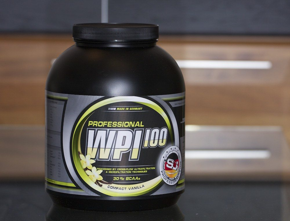 WPI 100 Protein Verpackung