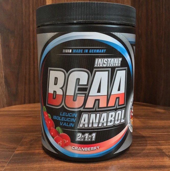 BCAA Anabol Bodybuilding Depot - BCAA Anabol von Supplement-Union im Test