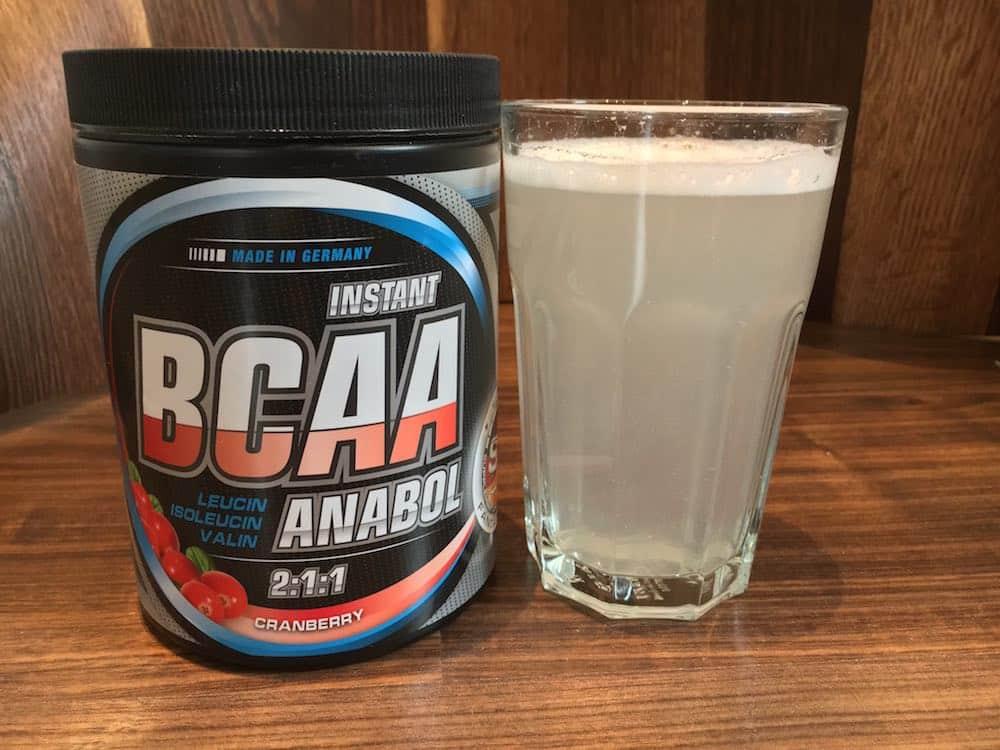 BCAA Anabol Löslichkeit - BCAA Anabol von Supplement-Union im Test
