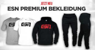 ESN Premium Bekleidung – jetzt NEU bei ESN Supplements