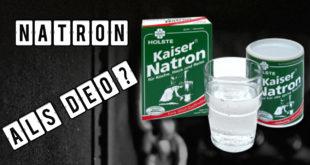Natron als Deo – Das beste Mittel gegen Schweißgeruch
