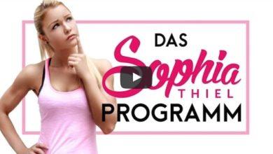 Sophia Thiel Programm Erfahrungen