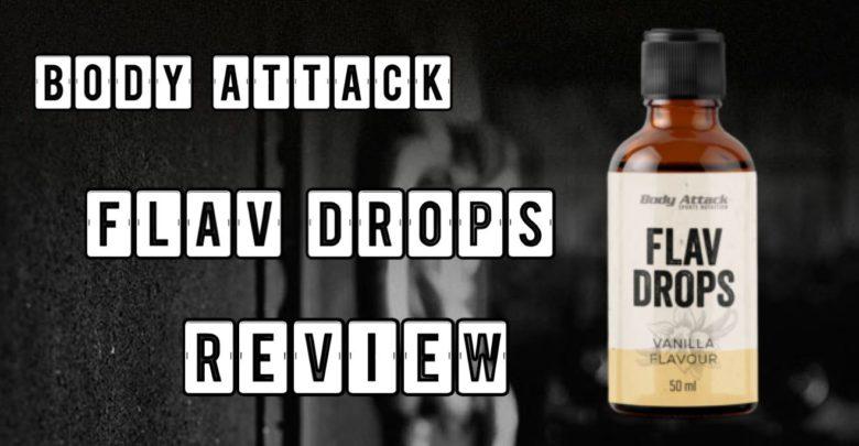 Body Attack Flavdrops