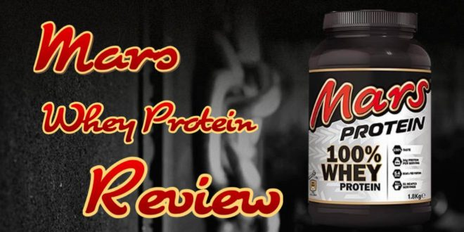 Mars Whey Protein Test