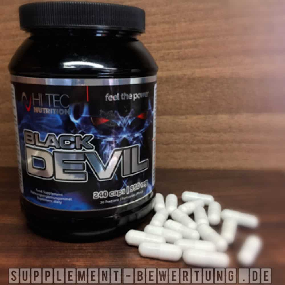 Black Devil Testosteron Booster Hi Tec Nutrition - Black Devil Testosteron Booster von Hi Tec Nutrition