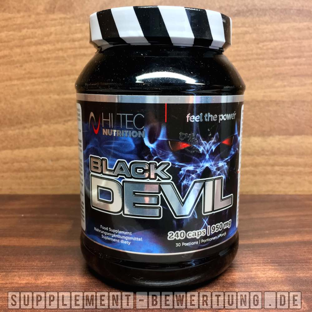 Black Devil Testosteron Booster Test - Black Devil Testosteron Booster von Hi Tec Nutrition