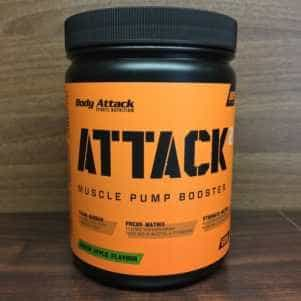 ATTACK 2 Body Attack Booster Test