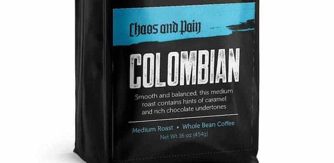 COLUMBIAN SUPREMO COFFEE - Chaos & Pain