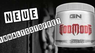 Godmode Workoutbooster 390x220 - Godmode Workoutbooster - Die wahren Inhaltsstoffe des Boosters