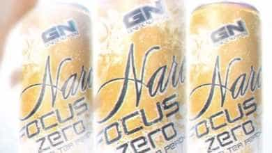 Narc Focus Zero ICE TEA PEACH