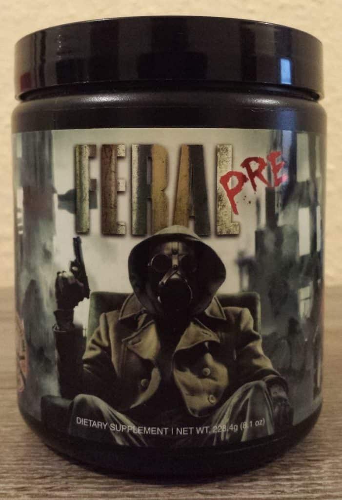 Feral PRE Label 701x1025 - Feral PRE – der Workout Booster von Apocalypse Labz im Test