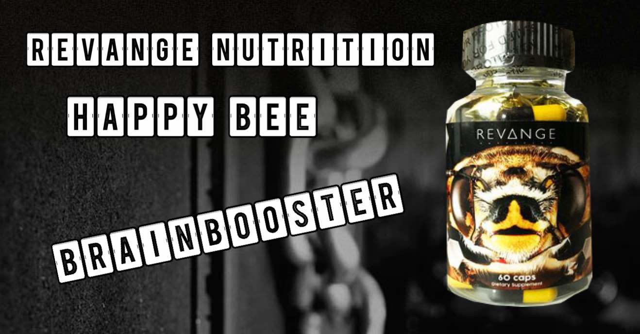 Happy Bee - Happy Bee von Revange Nutrition verspricht Glücksgefühle