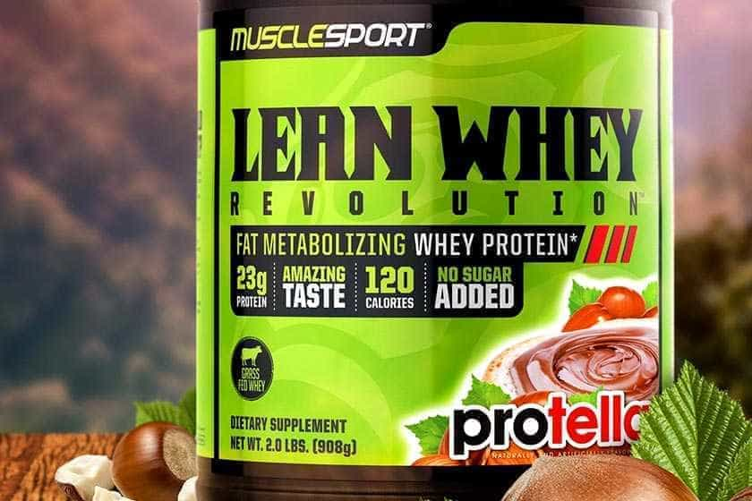 Nutella Whey Protein