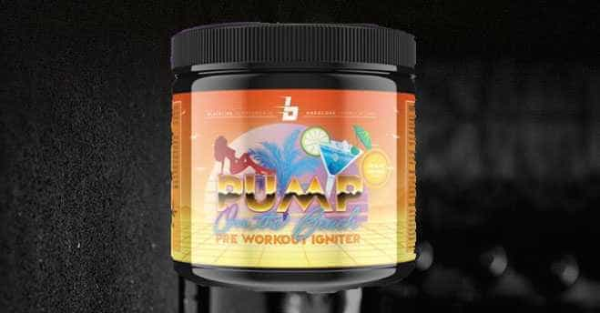 Pump on the Beach  - Pump on the Beach - neuer Hardcore Booster von Blackline Supplements