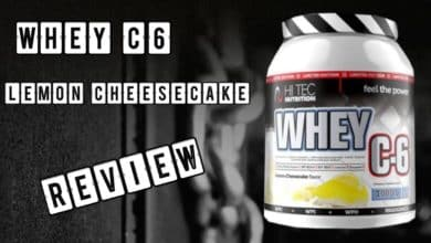 Whey C6 Lemon Cheesecake