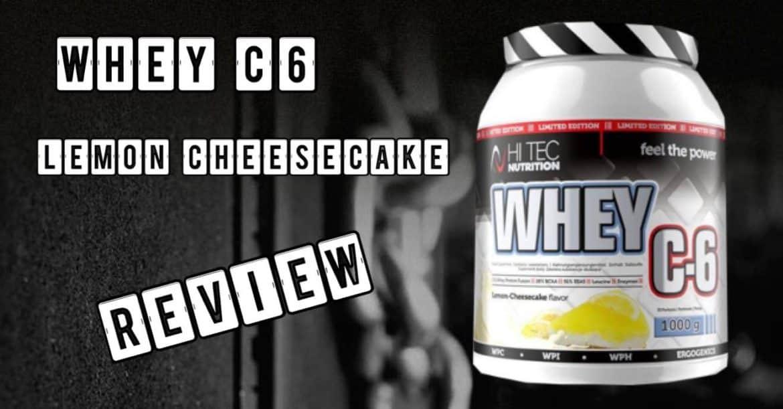 Whey C6 Lemon Cheesecake