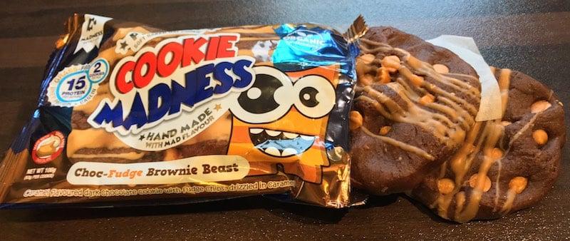 Cookie Madness Geschmack - Cookie Madness Test - wie lecker sind die Protein Cookies wirklich?