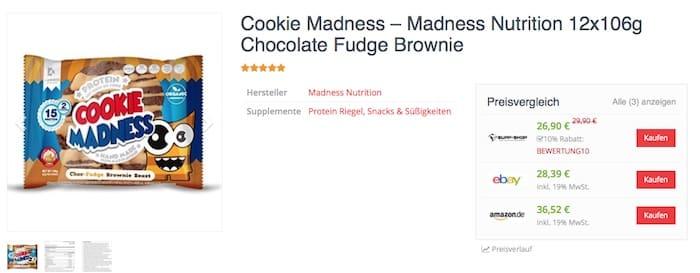 Cookie Madness Preisvergleich - Cookie Madness Test - wie lecker sind die Protein Cookies wirklich?
