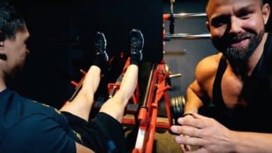 Kniebeuge oder Beinpresse