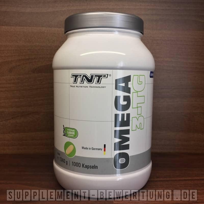 TNT Omega 3 Review - TNT Omega 3 Test - Die Omega 3 Kapseln von Mics Bodyshop im Test