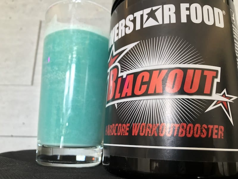 Powerstar Blackout Workoutbooster - Powerstar Blackout - Der EU Workoutbooster im Test