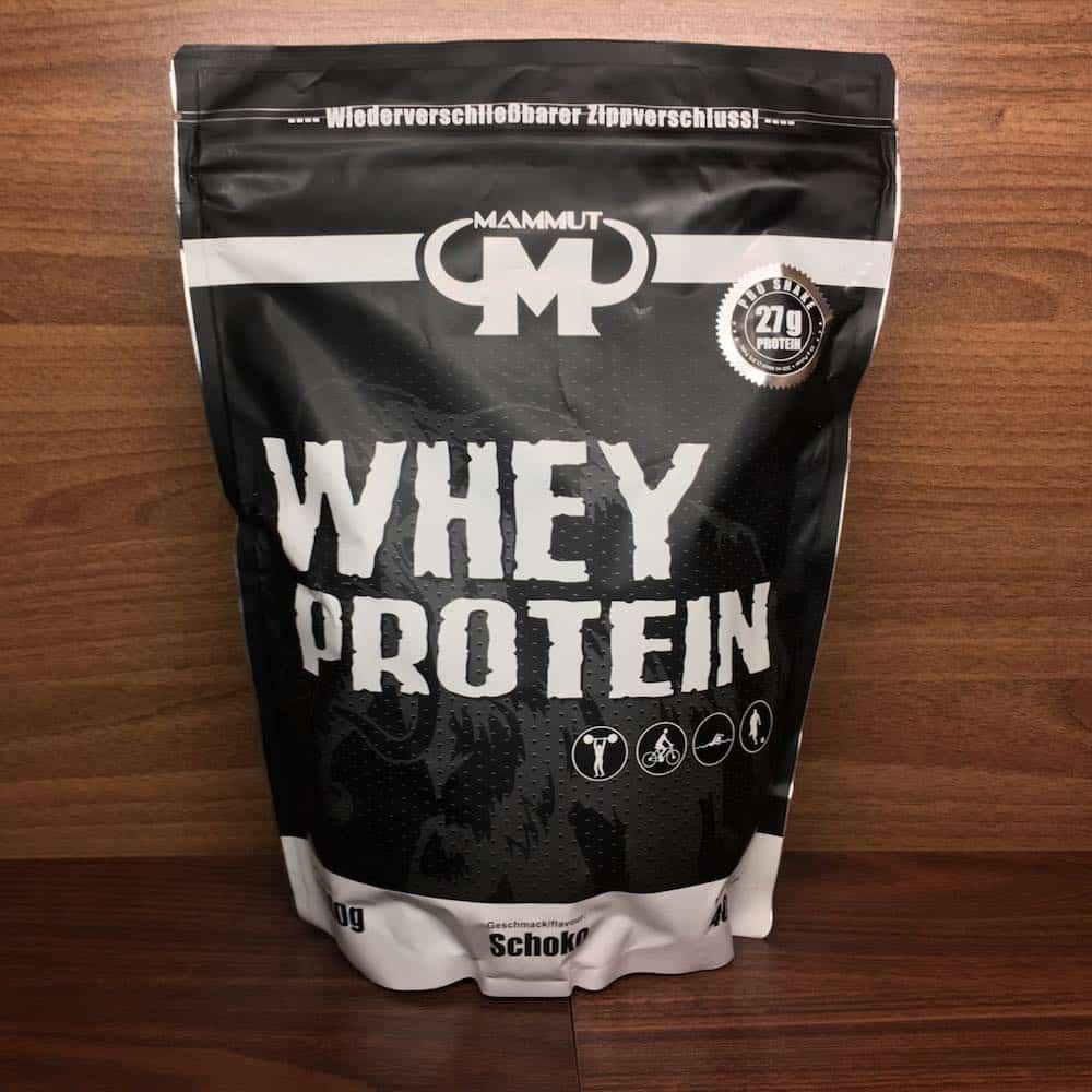 mammut whey protein test unsere erfahrungen zum whey protein. Black Bedroom Furniture Sets. Home Design Ideas