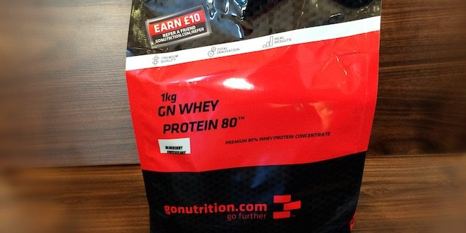 GoNutrition Whey Protein 80