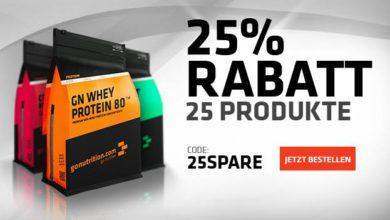 25% Rabatt auf 25 Produkte