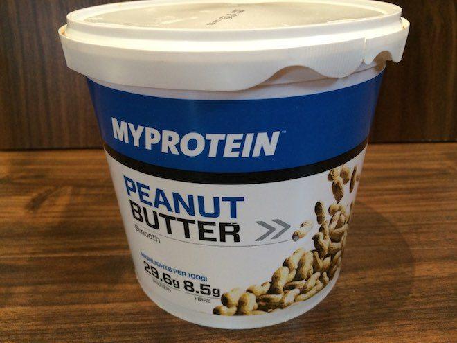 Myprotein Erdnussbutter Test