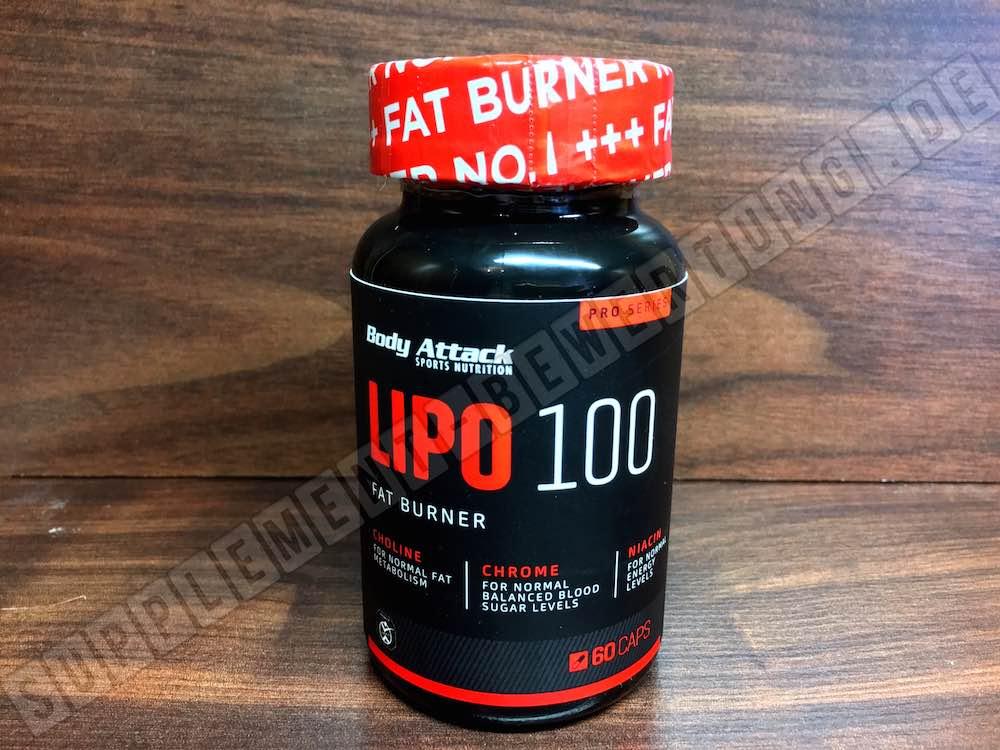 Lipo 100 Fatburner Erfahrungen