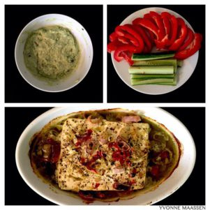 Gemüsesticks mit Avocado-Dip Zubereitung