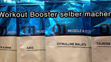 Pre Workout Booster selber machen