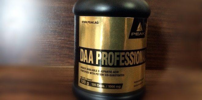 Peak DAA Professional Asparaginsäure - Peak DAA Professional - Unsere Erfahrungen zum Testosteronbooster
