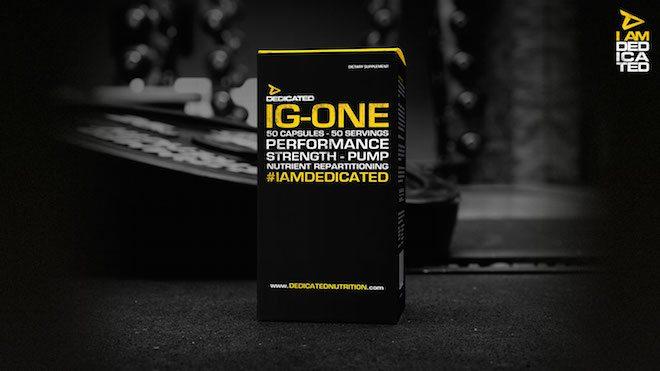 Dedicated Ig One - Dedicated Nutrition -  Die 3 besten Supplemente