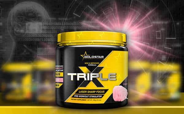Goldstar Triple X neues Design - DMHA bleibt im neuen Triple X Booster erhalten!