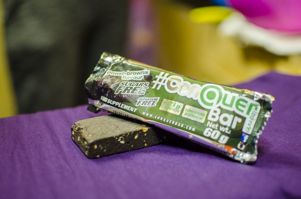 ConQuer Bar Power Brownie Flavour Test