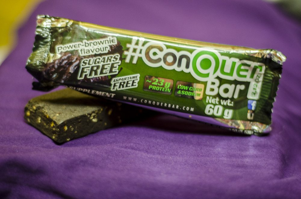ConQuer Bar Power Brownie Flavour