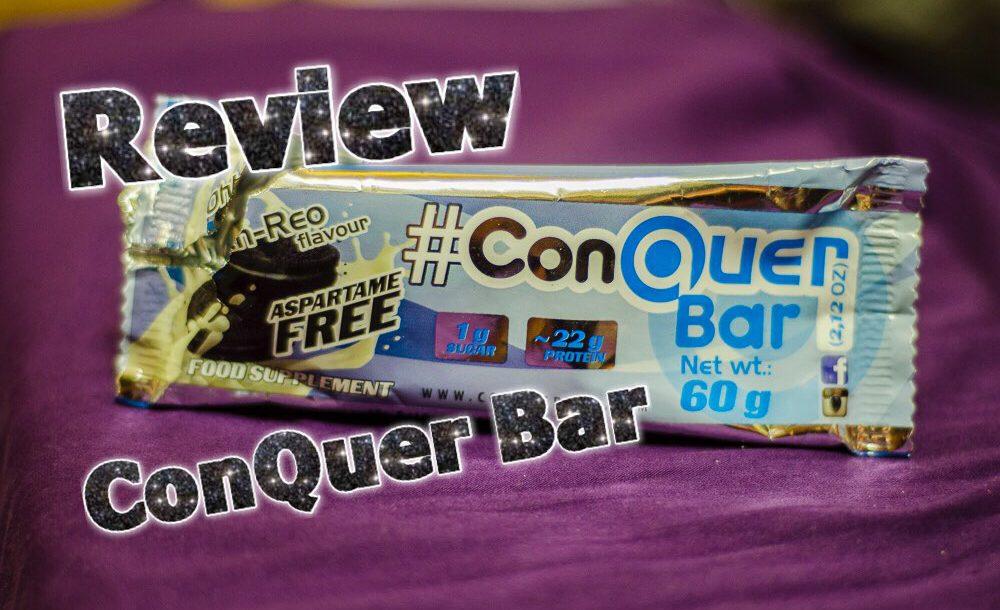 ConQuer Bar Review 1000x610 - ConQuer Bar - Ohh Reo und Power Brownie im Test