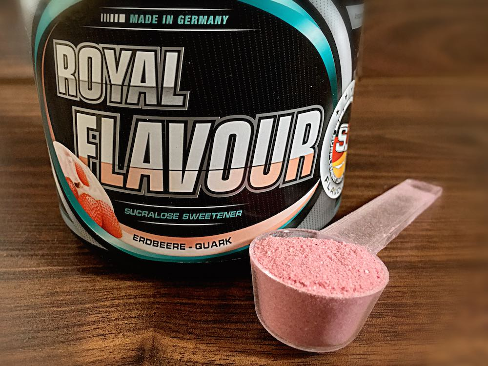 Royal Flavour Erdbeer Quark