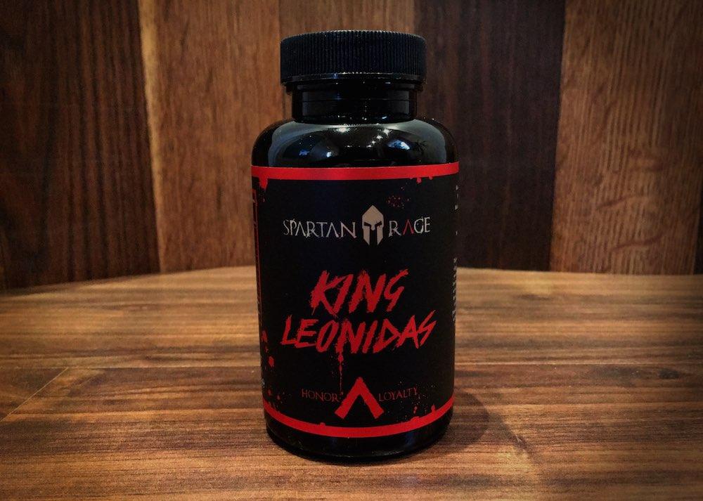 King Leonidas Testo Booster - King Leonidas - Spartan Rage - Bulbine Testosteron-Booster