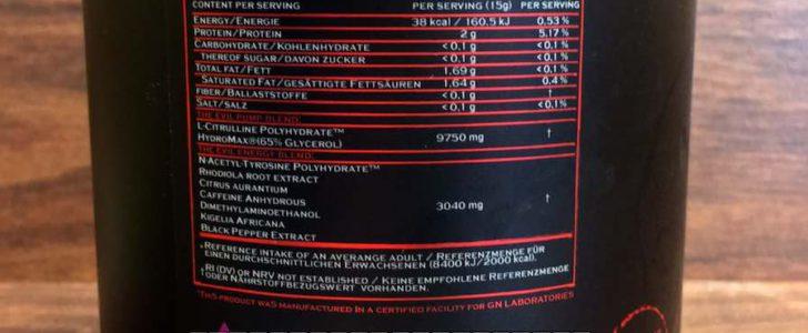 Narcotica The Evil Test 728x300 - Narcotica the Evil Test - Alle Fakten zum Booster von GN Laboratories