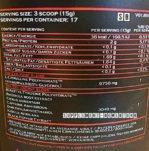 Narcotica the Evil Inhaltsstoffe 149x151 - Narcotica The Evil - Der Booster von GN Laboratories - Release auf der FIBO 2017