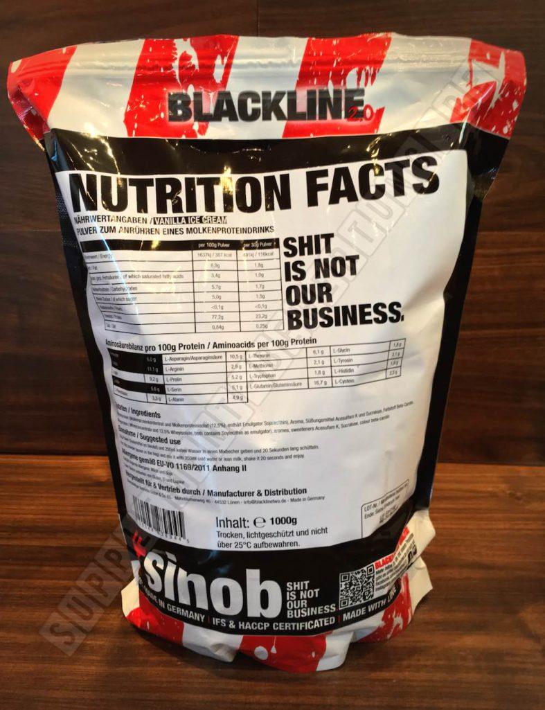 Honest Whey Inhaltsstoffe 1 787x1025 - Honest Whey von Blackline 2.0 im Test