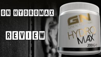 GN Hydromax Review 390x220 - GN Hydromax Pulver - Glycerin von GN Laboratories im Test
