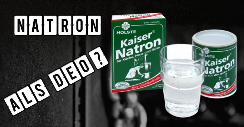 Natron als Deo